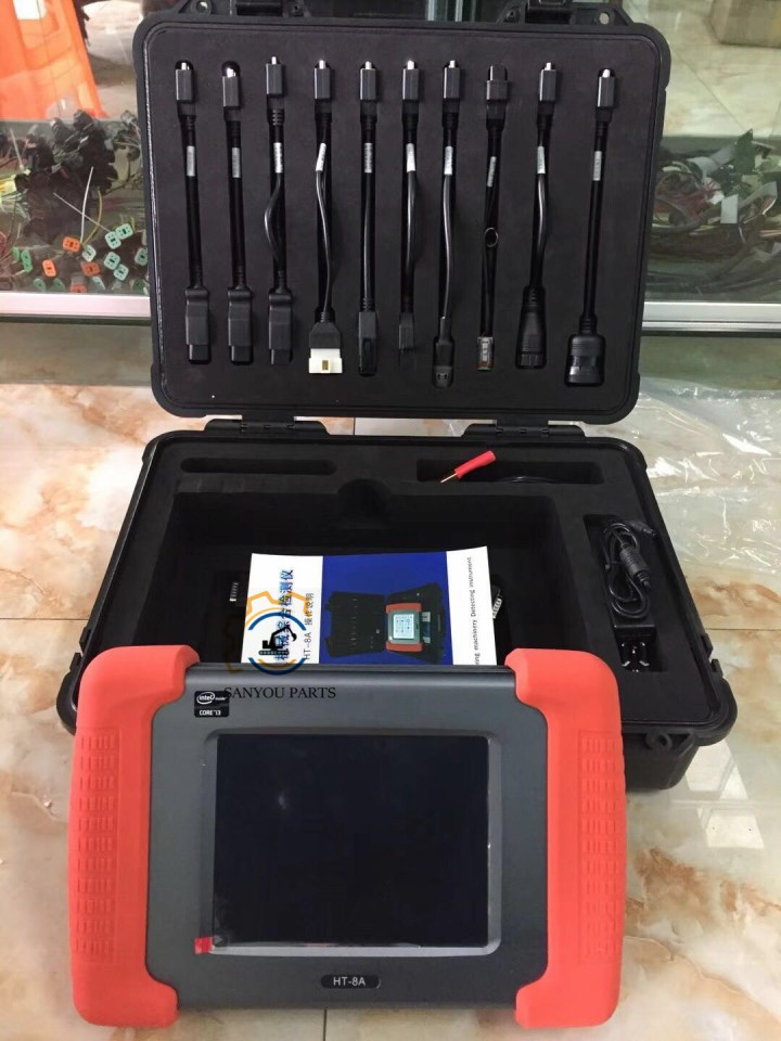 HT-8A Heavy Equipment Multi-diagnostic Tool For Trucks,Excavators,Construction Vehicles And Generators