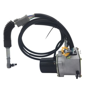 R215-7 Throttle Motor, R215-7 Accelerator Motor, R220-5 Throttle Motor 21EN-32220, R215-7 21EN32200 Throttle Motor