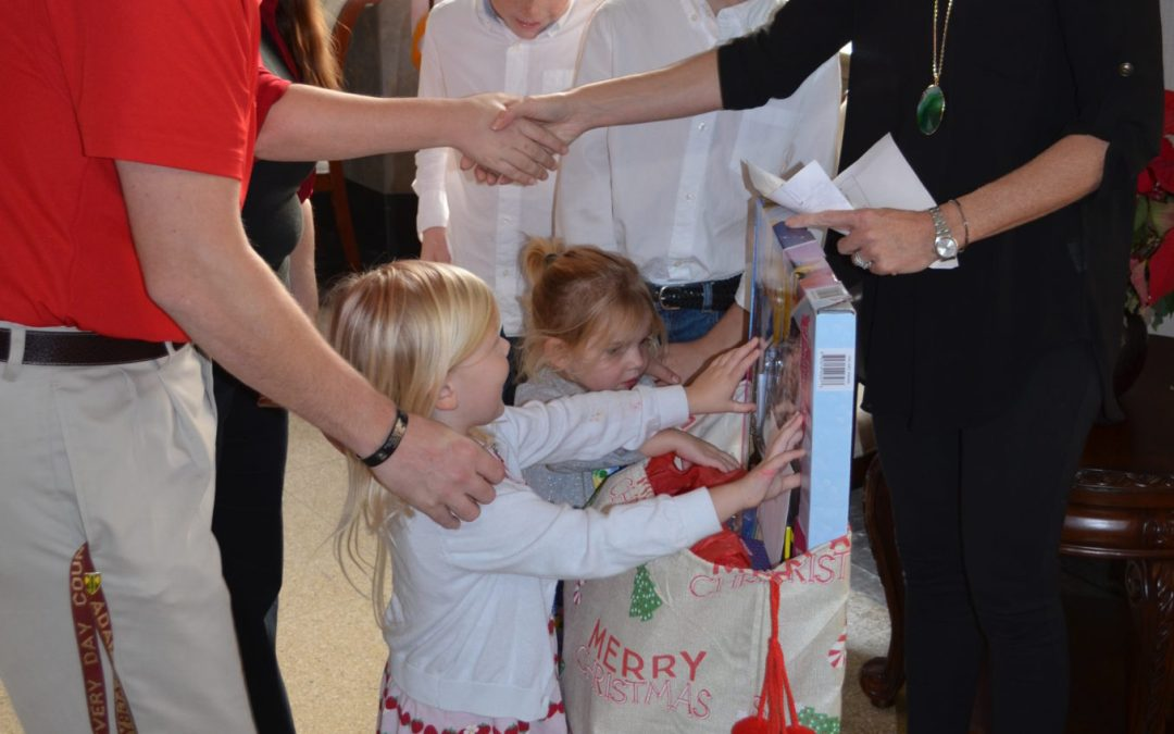 SAO Pays it Forward, Hosts Wounded Warrior Project Families for Holidays