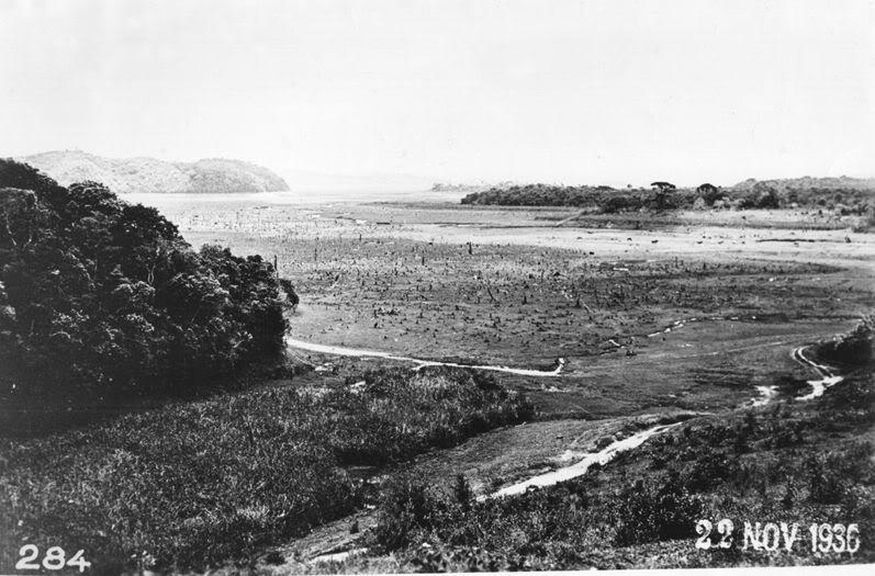 Represa de Guarapiranga em 1936.