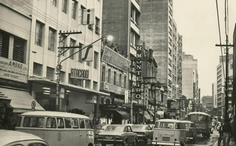 Rua 25 de março em 1975