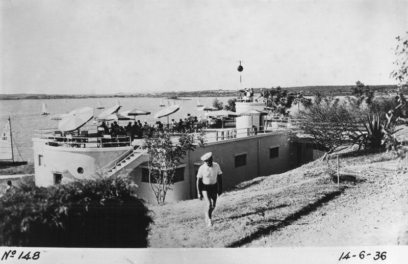 Represa de Guarapiranga em 1936
