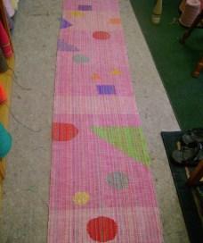 pink bridge banner
