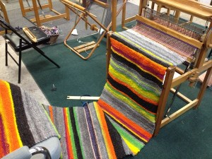 Kitchen rug on loom2
