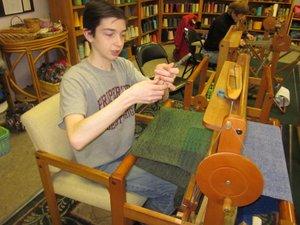 Lonnie weaving