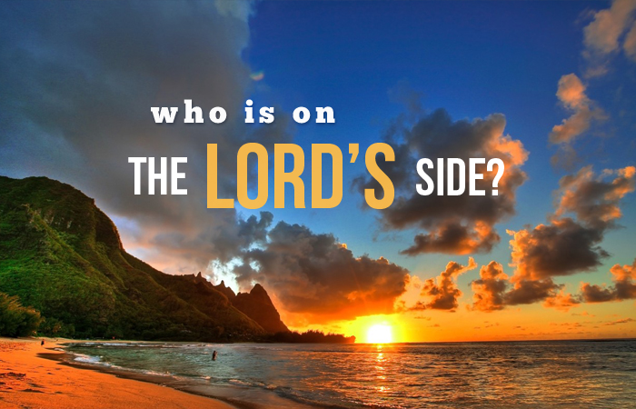 who is on the lords side