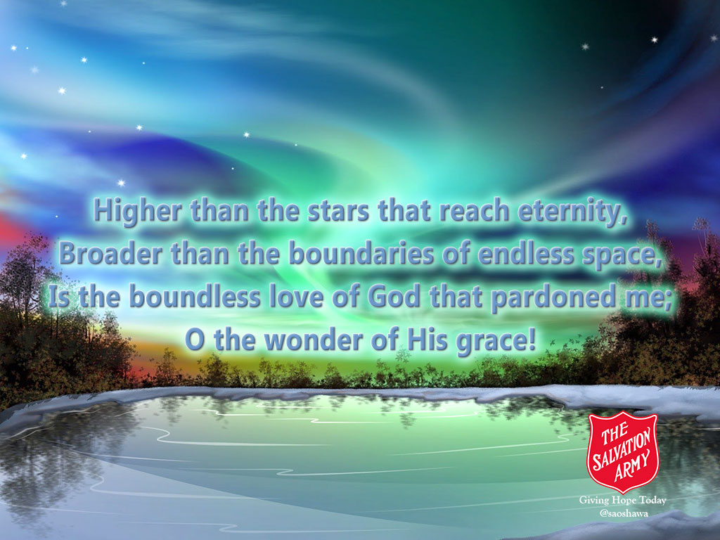 The Wonder of His Grace