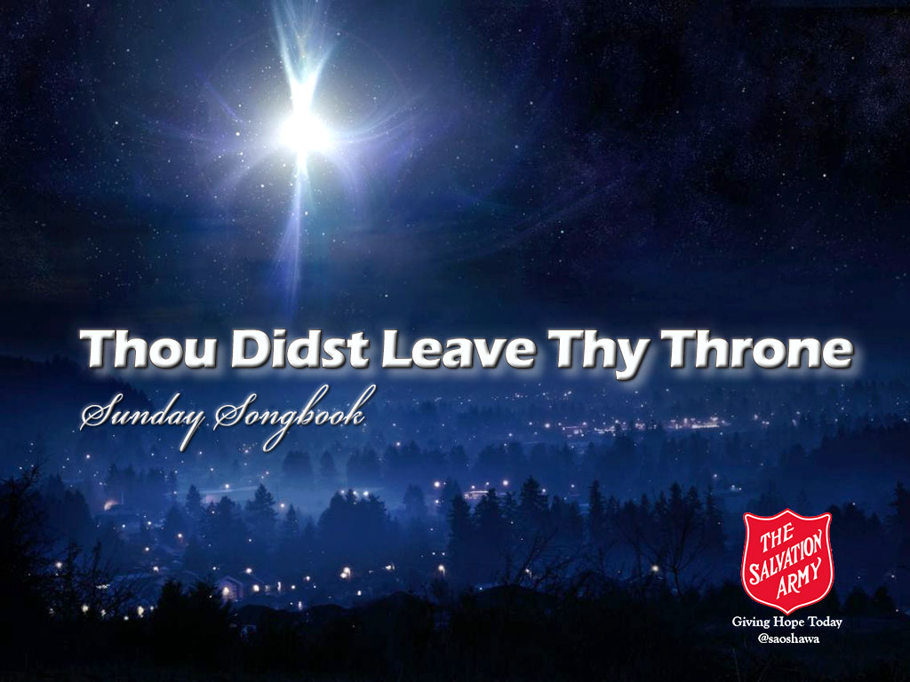 Thou-Didst-Leave-Thy-Throne