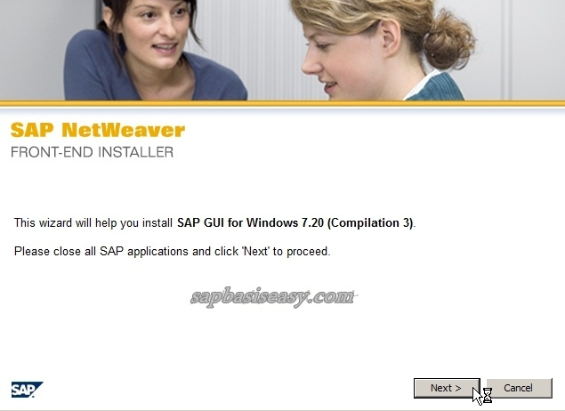 installing SAP GUI version 7.20