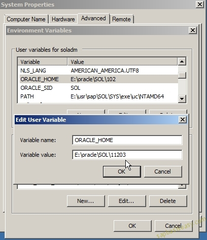 Upgrading SAP Oracle Database - SAP Basis Easy