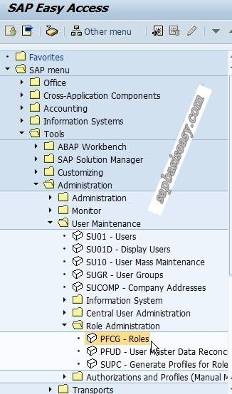 How to create SAP Single Role - SAP Basis Easy