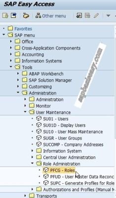 How to create SAP Single Role