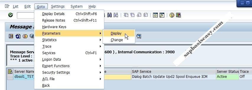 How to monitor SAP Message Server - SAP Basis Easy