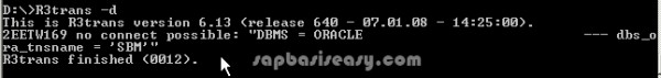 SQL error 28000004