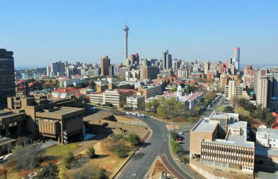 View of Hillbrow from the Parktonian - Heritage Portal - 2014