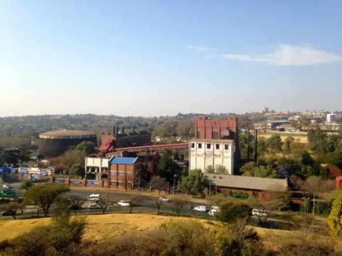 View over Egoli Gas - Heritage Portal - August 2015 - 1