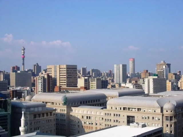 View over FNB Bank City towards the North East II