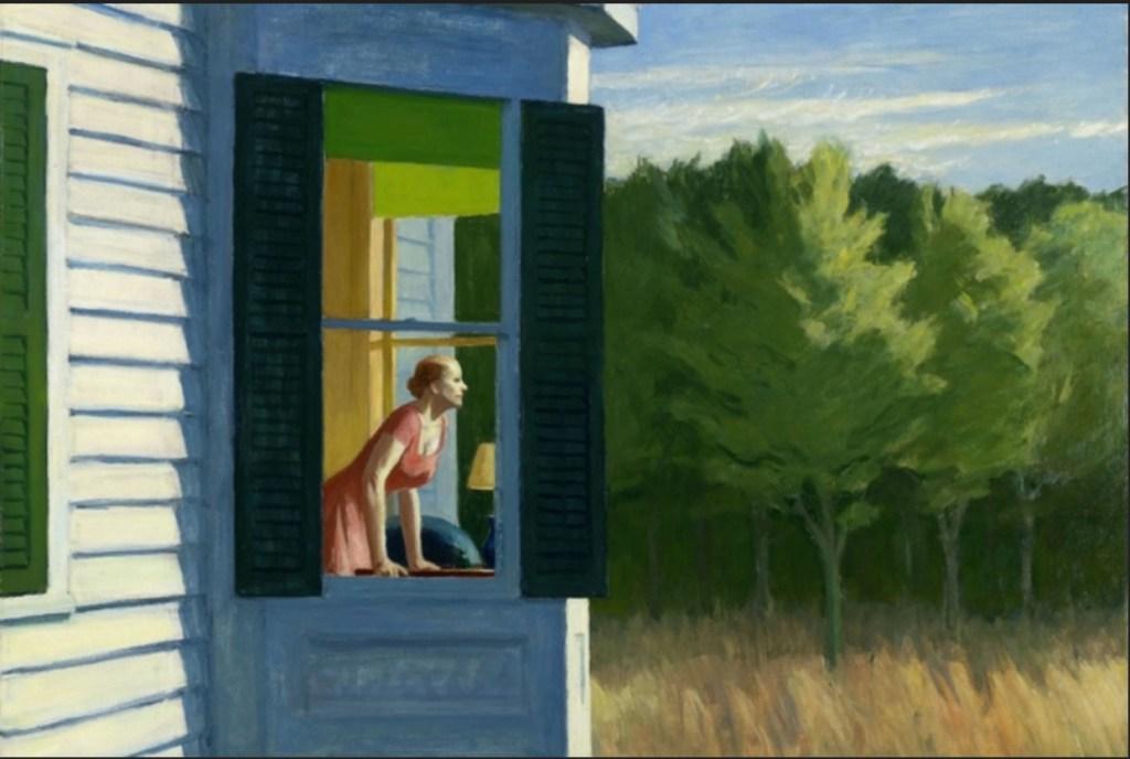 "Edward Hopper, ""Cape Cod Morning"" (1950)"