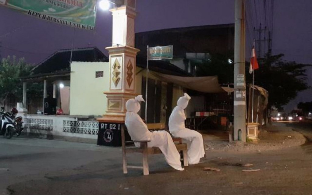 Pocong in Indonesia