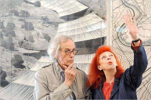 Christo e sua moglie Jeanne Claude, mancata nel 2009, formavano un sodalizio artistico indissolubile