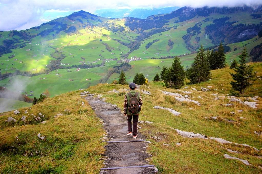 Alpi svizzere, panorma