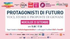 La locandina dell'evento organizzato dal Forum Diseguaglianze e Diversità