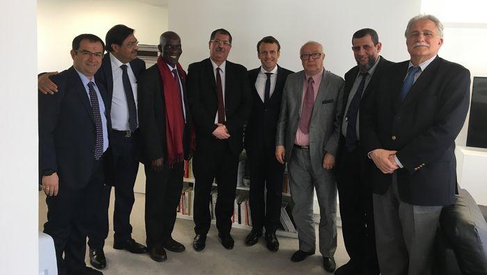 Présidentielle 2017 : le CFCM appelle les musulmans à voter Macron