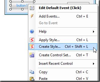 Create Style Option