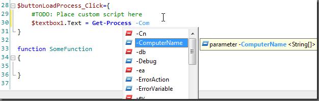 Parameter PrimalSense
