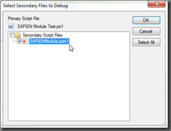 Select Module Files