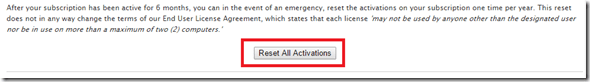 ResetAllActivations
