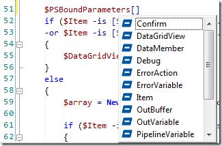 PSBoundParameters PrimalSense