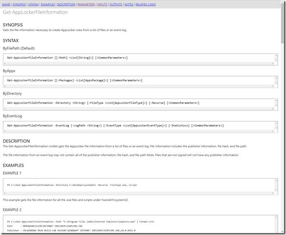HTML Cmdlet 1
