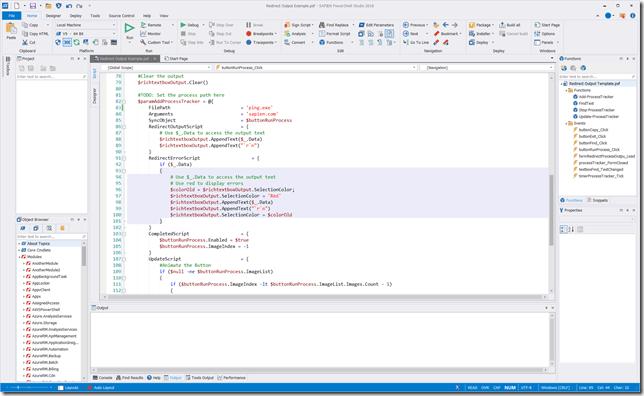 PowerShell Studio Update