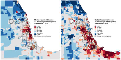 Mixed-Income Housing - From 1970 to 2010, the city of Chicago has seen increasing economic segregation.