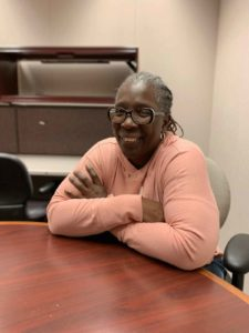 Mixed-Income Housing - Crystal Palmer, a former resident of Henry Horner Homes, now works for the Chicago Housing Authority.