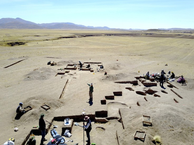 """female hunters - The remains of the ancient woman identified as """"WPI6"""" were found at the Wilamaya Patjxa site in southern Peru."""