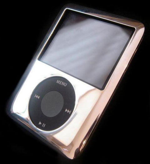 Platinum iPod Nano