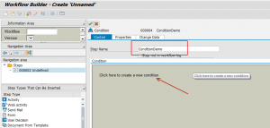 Condition Step in SAP Workflow