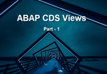 ABAP CDS Views