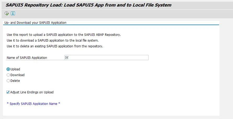 SAP UI5 Repository Load