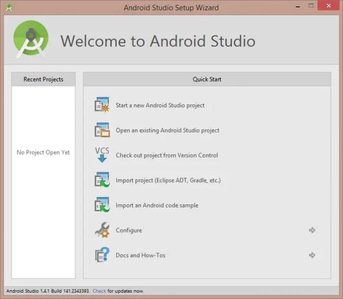 Android Studio Installation Step-7