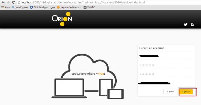 sapwebide_orion_signup