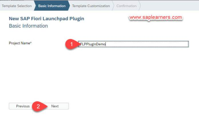 SAP Fiori Launchpad Plugin Step3