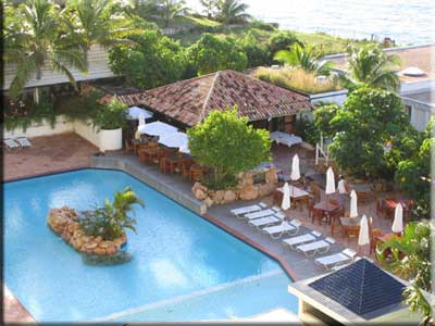 view of Sapphire Beach Club Pool