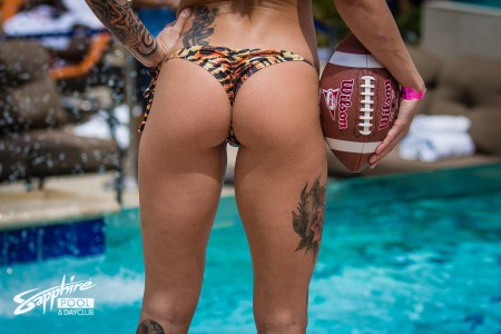 Best Place To Watch Monday Night Football in Las Vegas - Sapphire LV