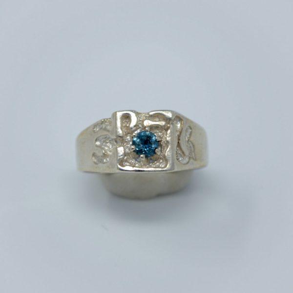 Mens MT Sapphire Ring