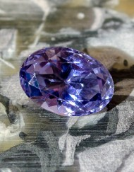 Purple MT sapphire 2.44