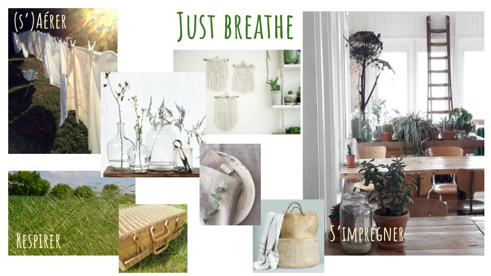 Planche ambiance - Just Breathe