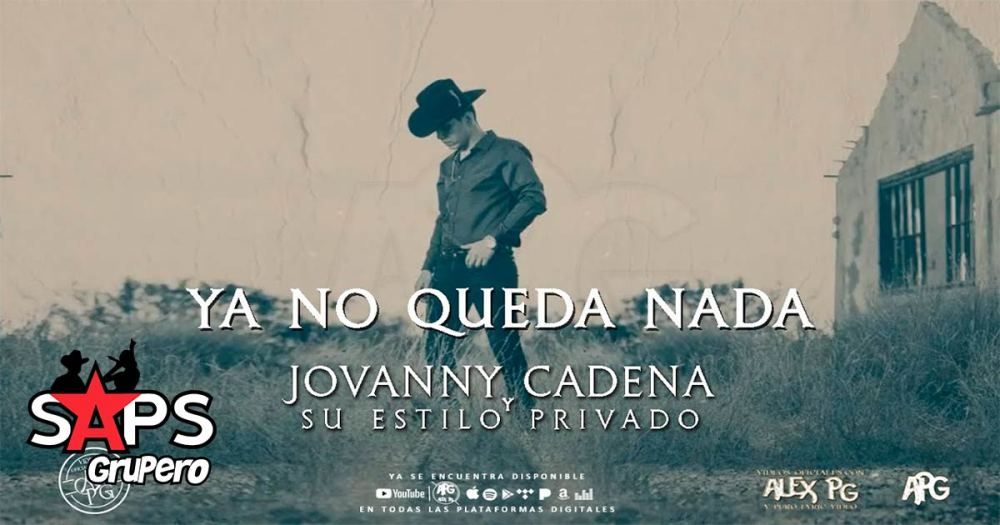 """Jovanny Cadena dice """"Ya No Queda Nada"""" en su nuevo sencillo"""